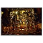 """Картина пейзаж """"Алтарь Майтрейи в монастыре Лхасы. 2004."""""""