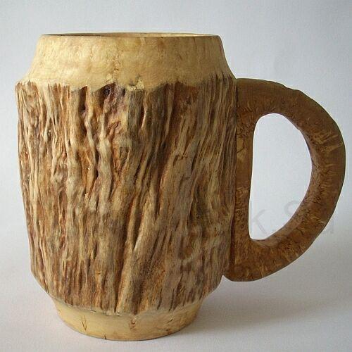 Пивная деревянная кружка своими руками