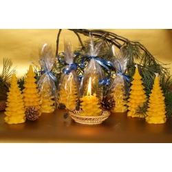 """Набор рождественских восковых свечей """"Оптовый подарок"""""""