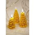 Набор рождественских восковых свечей