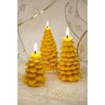 """Набор рождественских восковых свечей """"Хвойный лес"""""""